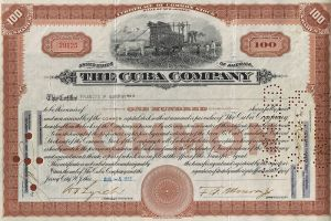 Old Common Share Certificate